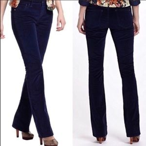 Anthropologie Pilcro navy cord pants 27